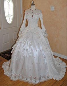 Fantasy Wedding Gown.