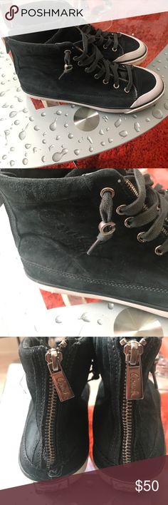 Coach sneakers Coach  suede sneaker good shape Coach Shoes Sneakers