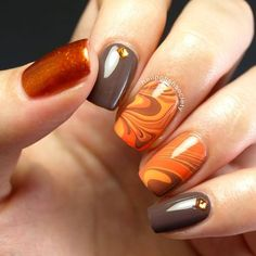 Best Thanksgiving Nails - 51 Trending Thanksgiving Nail Designs - Best Nail Art
