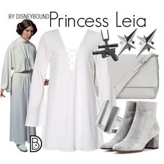 Disney Bound - Princess Leia