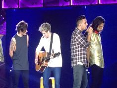 The boys on stage // Cardiff, UK (06.05.15)