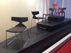 The Saya chair by Arper. Salone del Mobile 2014 Milano