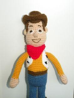 PDF - Woody  - 15 inches amigurumi doll crochet pattern. $5.50, via Etsy.