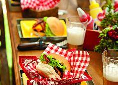 Cestinhas deixam o hambúrguer ainda mais tentador