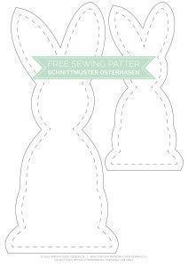 Gratis Schnittmuster Osterhase & Free Sewing Pattern & www.de Free Sewing Pattern Easter Bunny & Free Sewing Pattern & www.de The post Free Sewing Pattern Easter Bunny & Free Sewing Pattern Bunny Crafts, Easter Crafts, Easter Decor, Sewing Patterns Free, Free Sewing, Pattern Sewing, Free Pattern, Sewing Hacks, Sewing Tutorials