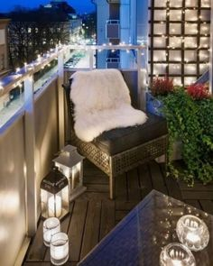 Would you not fancy a crisply decorated balcony that can be a great entertaining, cozy place midst verdant plants and […] Porches, Rental Space, Apartment Balconies, Outdoor Furniture Sets, Outdoor Decor, Cozy Place, Being A Landlord, Balcony Ideas, Looks Great
