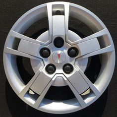 "2009 2010 Pontiac Vibe Hubcap / Wheel Cover 16"" 5144 (2.4L Engine Only) - http://wheelcovers.com/original-hubcaps-wheel-covers/2009-2010-pontiac-vibe-hubcap-wheel-cover-16-5144-2-4l-engine-only/"
