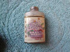 SCARCE—Lilas Defrance Talc Sample Tin | eBay