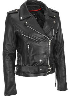 6b968639e030 Product Features This edgy motorcycle jacket brings biker inspiration to  your look. leather is accented
