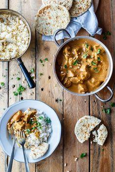 Butter Chicken | Nem opskrift på indisk Butter Chicken