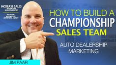 How To Build A Championship Sales Team How To Build A Championship Sales TeamYou want people on your team who will do anything to see your business succeed: jump off a building for you run through walls for you and believe they can fly because of you. If you dont have anyone like that working for you shame on you. You cant grow a business without surrounding yourself with people who have that kind of commitment. You cant be the only maniac. You cant grow a business without hiring people who…