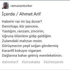 İçerde / Ahmed Arif