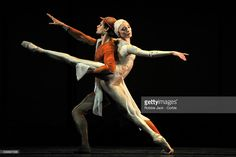 Thiago Soares and Sarah Lamb in the Royal Ballet's production of Kenneth MacMillan's Gloria at the Royal Opera House Covent Garden in London.