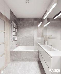 Aranżacje wnętrz - Łazienka: projekt 12 - Łazienka, styl minimalistyczny - PASS architekci. Przeglądaj, dodawaj i zapisuj najlepsze zdjęcia, pomysły i inspiracje designerskie. W bazie mamy już prawie milion fotografii!
