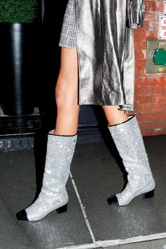 The glitter boots you've been seeing everywhere