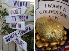 Leonie's Cakes and Parties . . . . .: WONKA Golden Ticket Party
