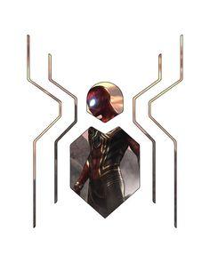 Modern Spider-Man design. Whos excited for the new Spider-Man movie? #design #graphicdesign #art  Modern Spider-Man design. Whos excited for the new Spider-Man movie? #design