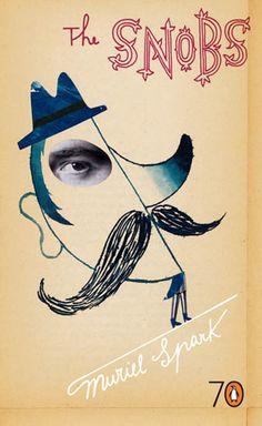 Sara Fanelli, book cover illustration / The Snobs (Penguin)