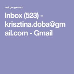 Inbox (523) - krisztina.doba@gmail.com - Gmail
