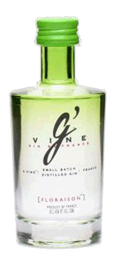 La pequeña #gin de la familia @GVineSpain Floraison. Miniatura 5cl.