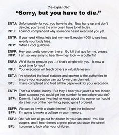MBTI, what field I would work in if it was up to me