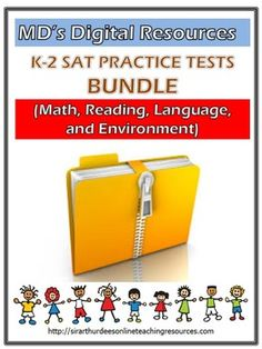 It's the best time to prepare your K-2 kids for the SAT-10 test. Request for a copy of SAT-10 practice test in Mathematics, Reading, Language, and Environment. Click the following link to start your practice today. http://sirarthurdeesonlineteachingresources.com/