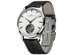 Jaeger-LeCoultre [NEW] Master Ultra Thin Tourbillon Silver Dial WG Q1323420 (Retail:US$73,000) ~JUNE SPECIAL: HK$388,000.
