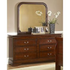 Chateau Brown Collection Mirror