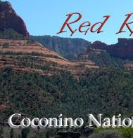 Coconino National Forest.  Red Rock Country.  Look for The Bell Trail.  Look for West Clear Creek Wilderness.