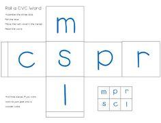 Empowering Little Learners: CVC Nonsense Word FREEBIE Center!