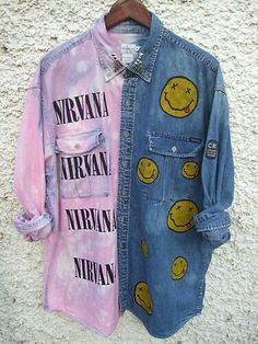 Image via We Heart It #grunge #jeans #nirvana