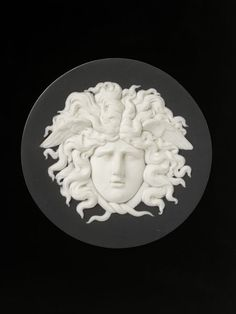 Head of Medusa   Josiah Wedgwood and Sons   V&A Search the Collections