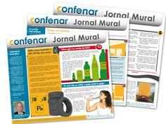 Jornal Mural - Publicação bimestral direcionada para toda a rede de revendas associadas à Confederação.