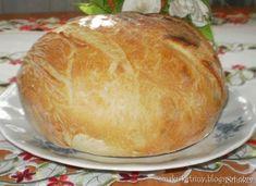 Rewelacyjny chleb z garnka :-) Polecam-najlepszy - przepis ze Smaker.pl Yeast Bread, Bread Baking, Bread Recipes, Cooking Recipes, Feta Salad, How To Make Bread, Sweet Bread, Pina Colada, Bakery