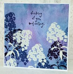 Make My Monday Challenge Blog Embossing heat or dry