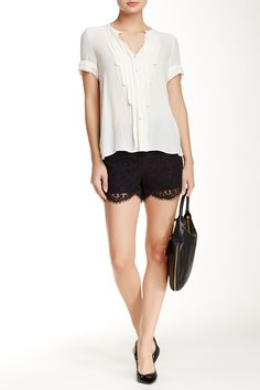 Azaria Lace Short by Ted Baker London on @nordstrom_rack