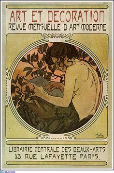 Art et Decoration by Alphonse Mucha