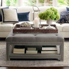 Image Result For Ottoman Tray Decor Tufted Coffee Table