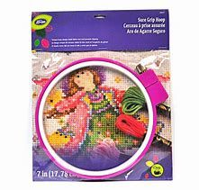 Loran Sure Grip Hoop 4 cm Small Stuff, Craft Accessories, Needlepoint, Needlework, Hoop, Tapestry, Stitch, Crafts, Embroidery