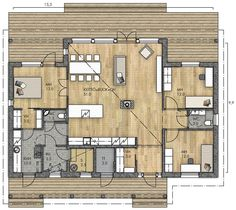 Home Interior Design, Interior Architecture, Future House, My House, Dream House Plans, Minimalist Home, Sweet Home, New Homes, Floor Plans