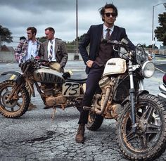 Photographer Jonathan Walker @wakkagram took some great photos at this years Distinguished Gentleman's Ride.  The men all dapper juxtaposed to the muddy bikes   #MyFujifilm #Fujifilm #XSeries #XPro1 #Dapper #distinguishedgentlemansride by fujifilm_northamerica
