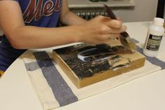 How to Transfer Pictures to Blocks of Wood