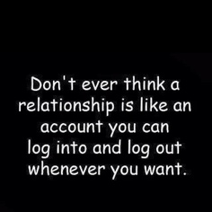 -Wish some people got this.....Relationships