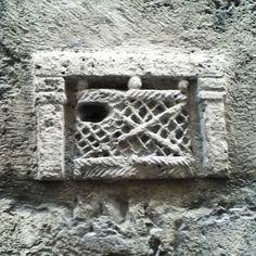 Casa medievale fregio originale #foligno #italy