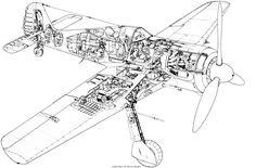 Focke Wulf, Cutaway, Ww2, Utility Pole, Planes, Aviation, Aircraft, Diagram, War