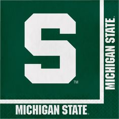 Michigan State Univ 2 Ply Lunch Napkins/Case of 240 Tags: Michigan State University; Lunch Napkins; Collegiate; Michigan State University Lunch Napkins;Michigan State University party tableware; https://www.ktsupply.com/products/32786326061/Michigan-State-Univ-2-Ply-Lunch-NapkinsCase-of-240.html