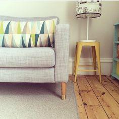 Karlstad sofa shoed with Prettypegs Estelle legs