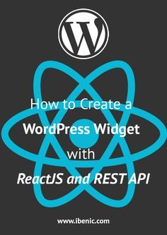 Learn how to create a WordPress widget with ReactJS and REST API. You will learn how to create several React elements and contain them inside one widget. Click here to read more