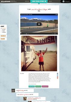 #ICanWithMS, a microsite built to give voice to those who refuse to let multiple sclerosis define them.