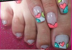 Más Nail Manicure, Toe Nails, Stiletto Nails, Pretty Pedicures, Pretty Nails, Toe Nail Color, Nail Colors, Nail Polish Designs, Nail Art Designs